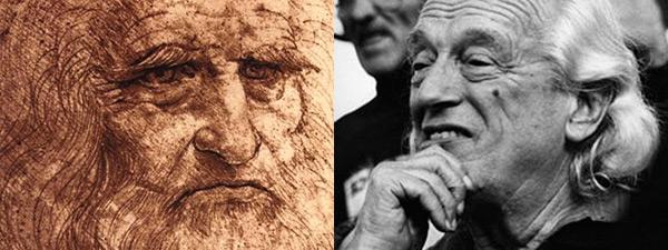Leonardo Da Vinci y Rafael Alberti.