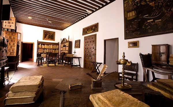 Interior de la casa museo de Lope de Vega en Madrid.
