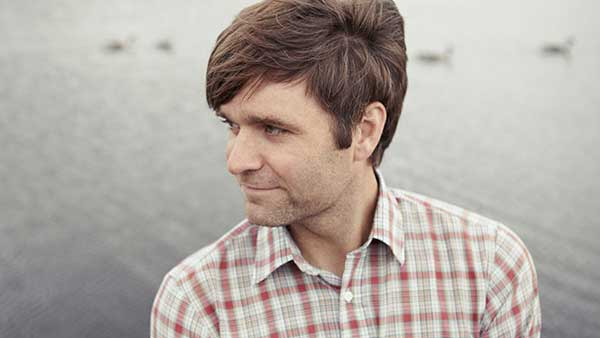 Ben Gibbard, cantante y compositor de Death Cab for Cutie.