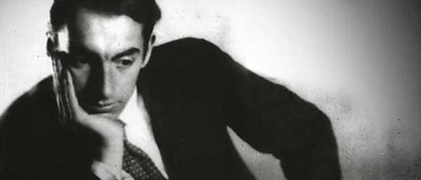 Un joven Pablo Neruda.