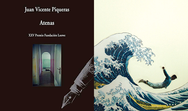 Portadas de 'Atenas' (Premio Loewe 2012) y 'La ola tatuada'.