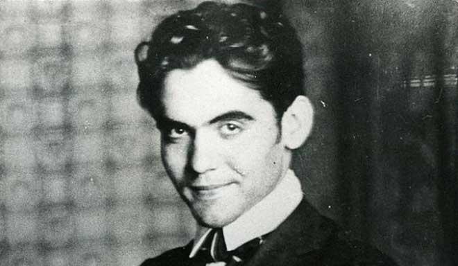 Un joven Federico García Lorca.