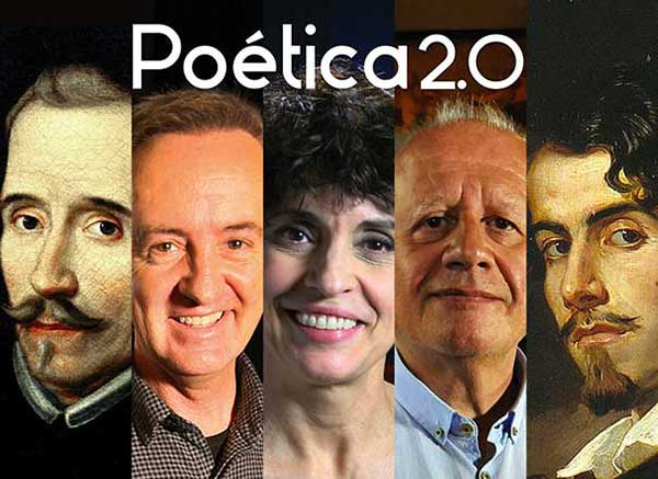 Portada de la app 'Poesía Española' de Poética 2.0.