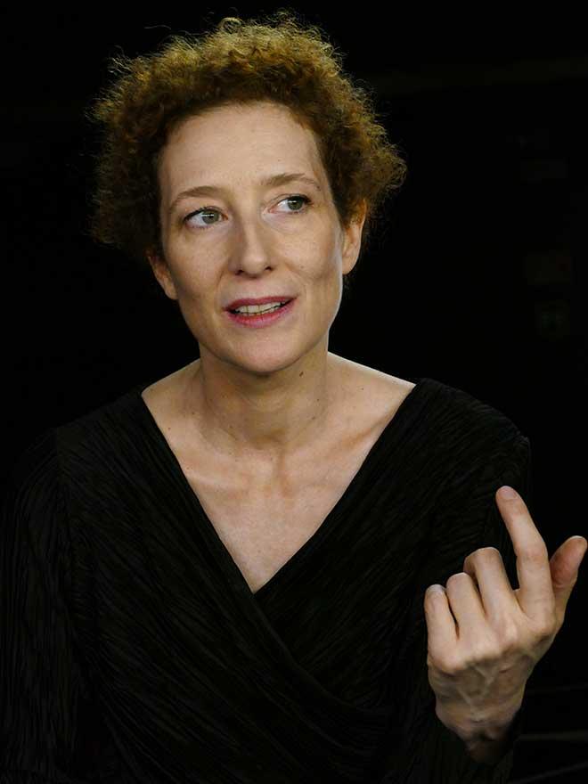 La actriz Clara Sanchis.