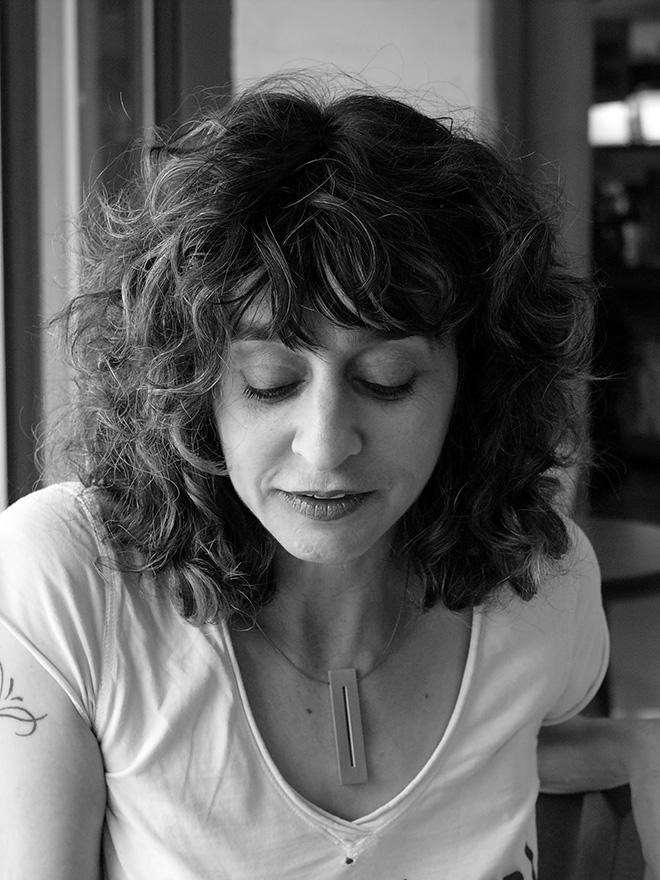 La poeta norteamericana Kim Addonizio.