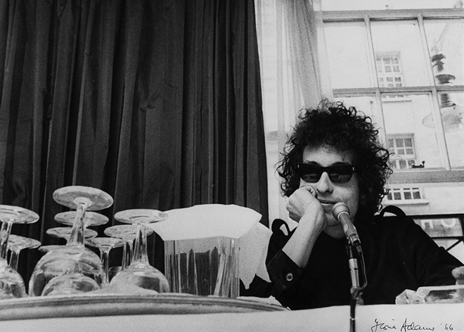 Bob Dylan en 1966.