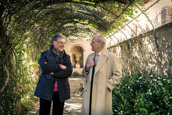 Robert Archer y Guillermo Carnero. Imagen de Biel Aliño.