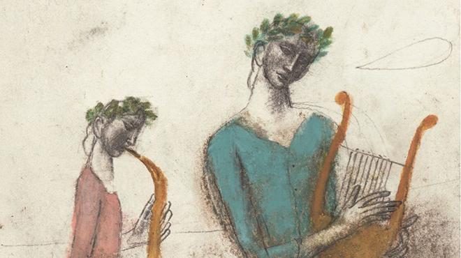 Una de las ilustraciones de Pablo Auladell para el libro de Julio Cortázar.
