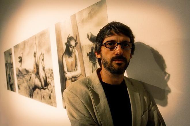 El artista alicantino Pablo Auladell.