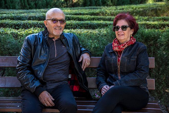 Josep Picó y Carmela Rey.