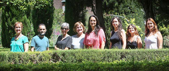 Ana Pérez, Fran García, Inma López, Elena Escribano, Pilar Verdú, Virginia Navalón, Montse García y Bibina Collado. Foto de José Cuéllar.