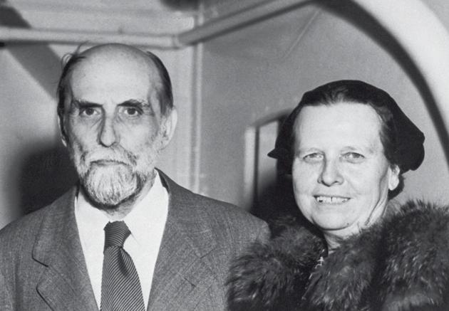 Juan Ramón Jiménez y Zenobia Camprubí.