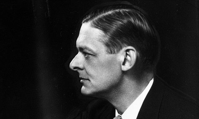 El poeta T. S. Eliot.