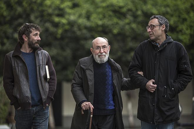 Borja Penalba, Marc Granell i Francesc Anyó. Foto de Biel Aliño.