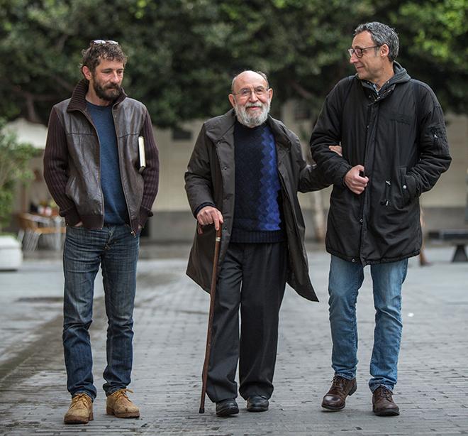 Borja Penalba, Marc GRanell i Francesc Anyó (Foto de Biel Aliño).