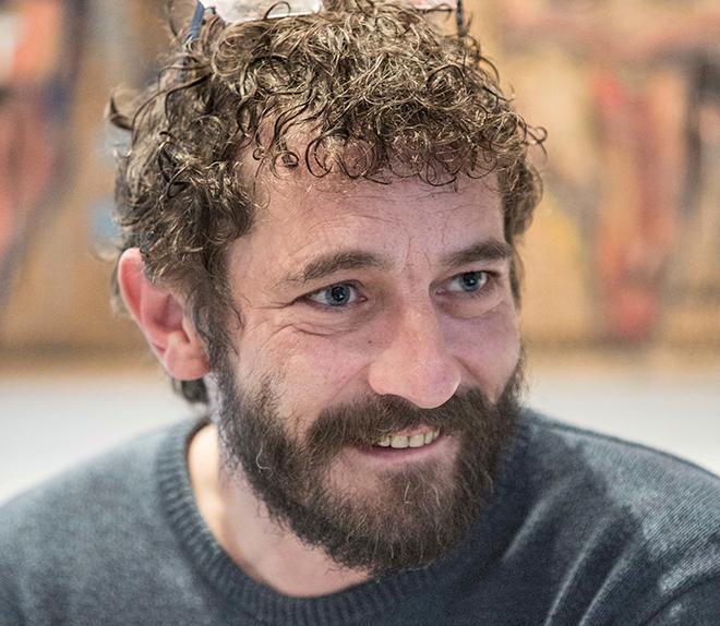El músic Borja Penalba (Foto de Biel Aliño).