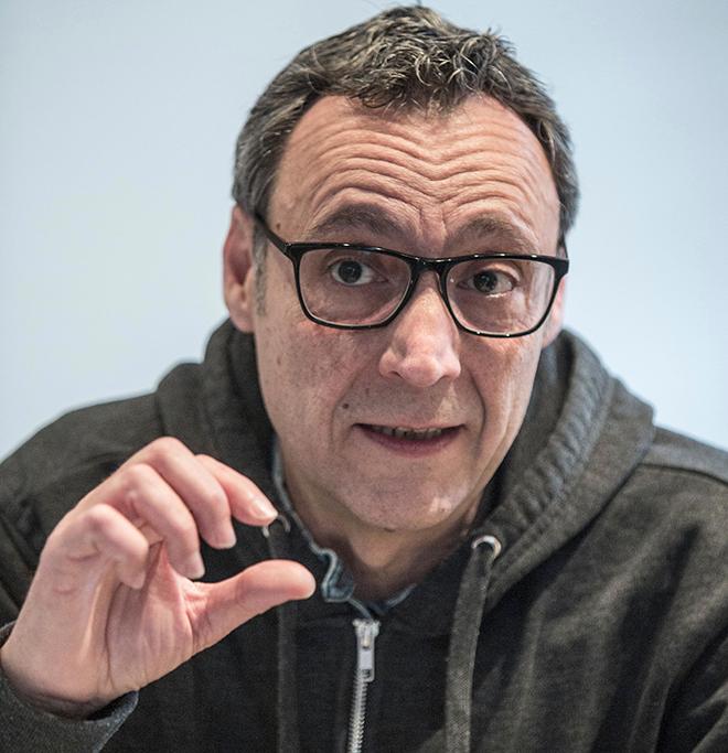Francesc Anyó (Foto de Biel Aliño).