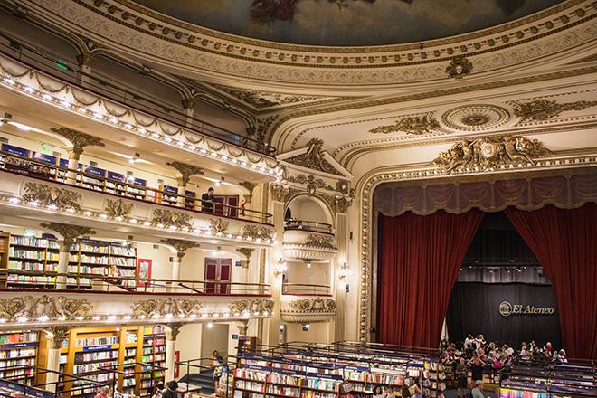 Ateneo Grand Splendid Buenos Aires Foto de Claudia Bonilla