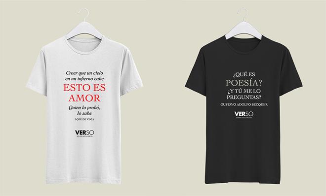 Camisetas de poesía de Poética 2.0